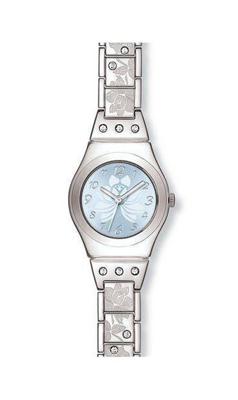 Relógio Swatch Feminino Flower Box Com Cristais