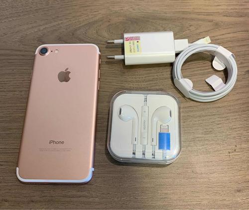 iPhone 7 256gb - Rosa - Novo!!