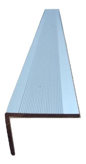Varilla Aluminio Angulo Antideslizante Oro / Plata 25x20