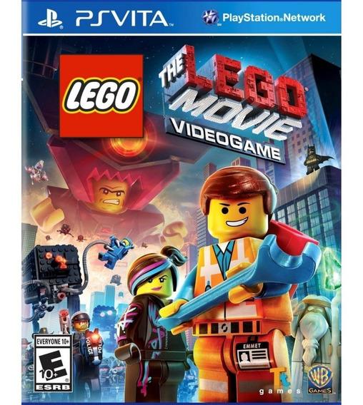 Lego Movie Videogame - Ps Vita Mídia Física Lacrada Original