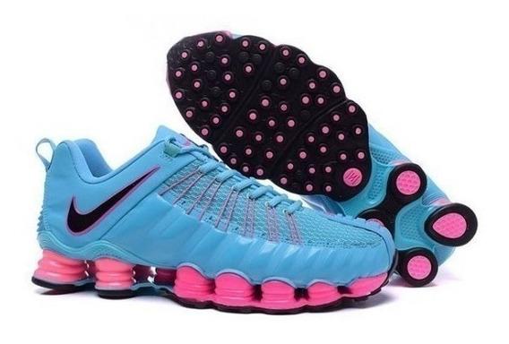 Tênis Feminino Nike 12 Molas Tlx Original Oferta 35%off