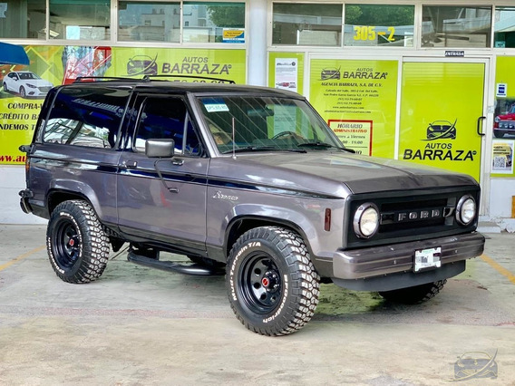 Ford Bronco 1987 Gris Metalico