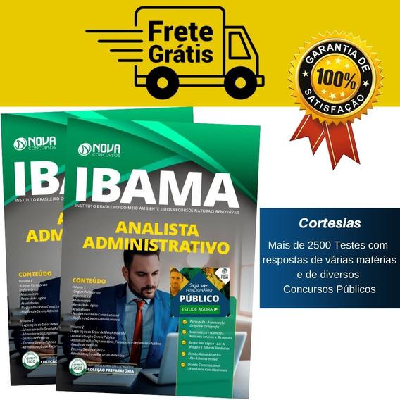 Apostila Ibama - Analista Administrativo - Completa