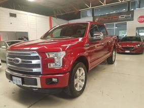 Ford Lobo Platinum Roja 2015