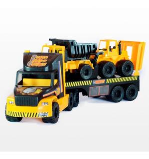 Camion Super Constructor Duravit 80 Cm Volcador Y Excavadora