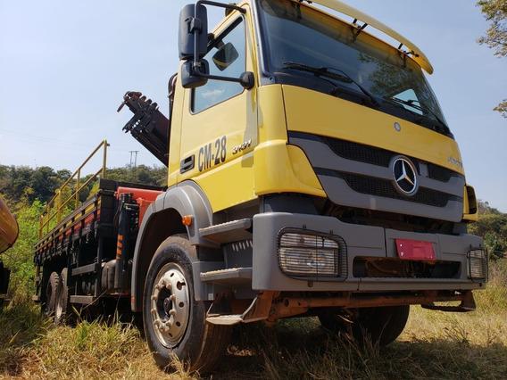 Mercedes-bens 3131 6x4 Ano 2014 Munck Madal Pkk 23.000