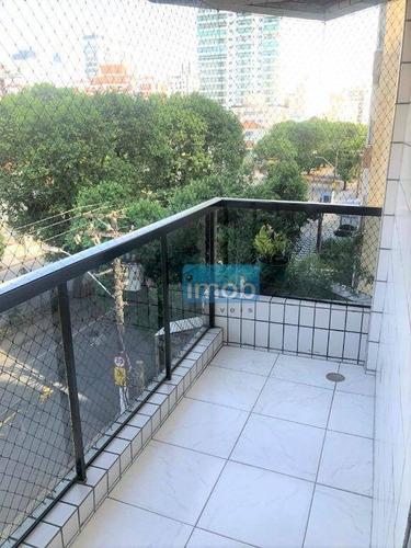 Imagem 1 de 19 de Apartamento Com 2 Dormitórios À Venda, 114 M² Por R$ 620.000,00 - Ponta Da Praia - Santos/sp - Ap7833