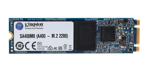 Ssd M.2 M2 Sata Kingston Sa400 240gb 2280 Sa400m8/240g Novo