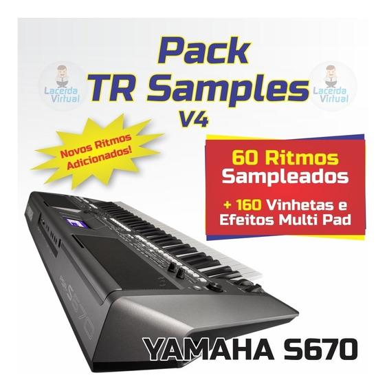 Pack Tr Sample V4 + Ritmos (atuais) + Vinhetas MultiPad S670