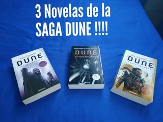 Novelas Saga Dune Paquete De 3 Novelas Gran Oportunidad