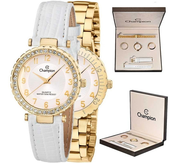 Relógio Champion Feminino Analógico Cn28759h Oferta Loi