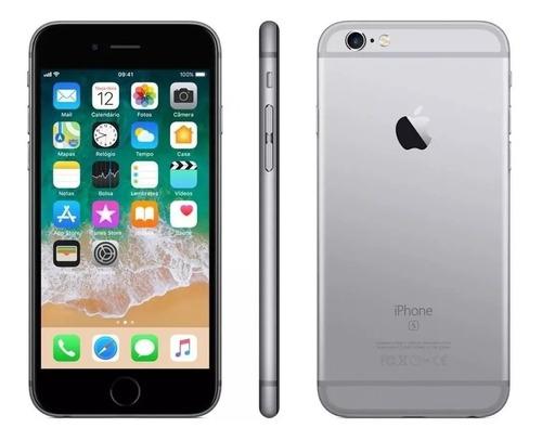 iPhone 6s 128gb Cinza  Semi C/ Caixa Original