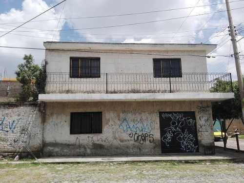 Casa Con Recámara Y Local Comercial En Pb