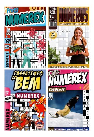 Kit 25 Revistas Númerix- Númerex - Números ( Sem Repetições)