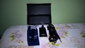 Microfone Le Son Modelo Db-88 - C/ Cachimbo E Base P/ Mesa