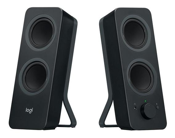Caixa De Som Logitech Z207 Bluetooth 10w P3 Preto 980-001295