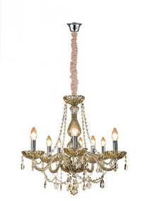 Lustre Bronzeart Classico 8lamp, E14 [gd921608ls] Ambar