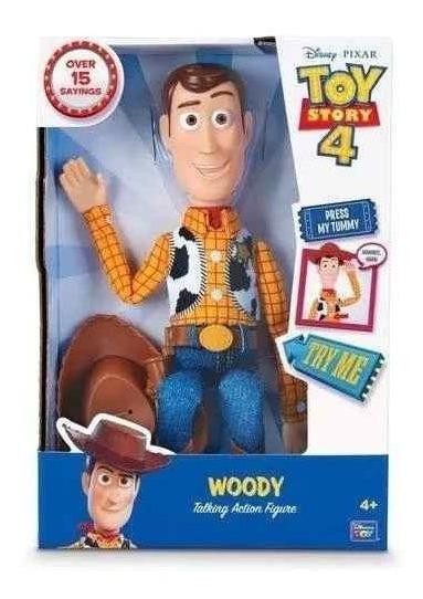 Woody Falante 15 Frases Figura De Ação - Toyng 35727