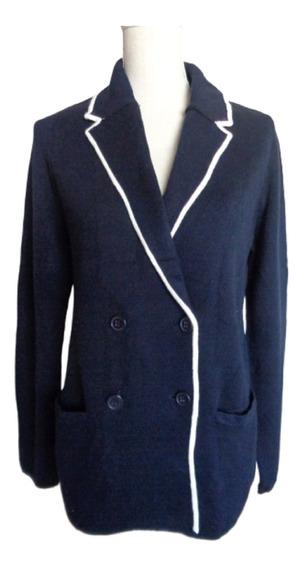 Sweter Tipo Blazer Talla M, Nuevo C/etiqueta, Doble Botonadu