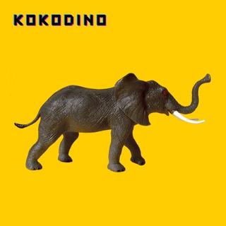 Elefante África Selva Jungla Juguete Goma 28x14cm Kokodino