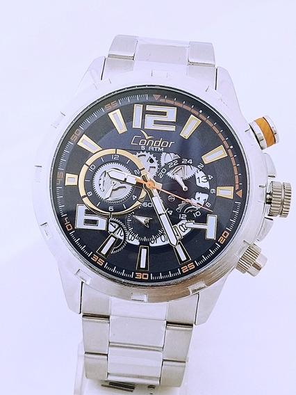 Relógio Condor Masculino Fundo Azul Covd33b/3a