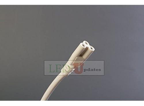 Imagen 1 de 3 de 4 Pies Tubo De Led Integrado Para Enlace Cable De Alambre In