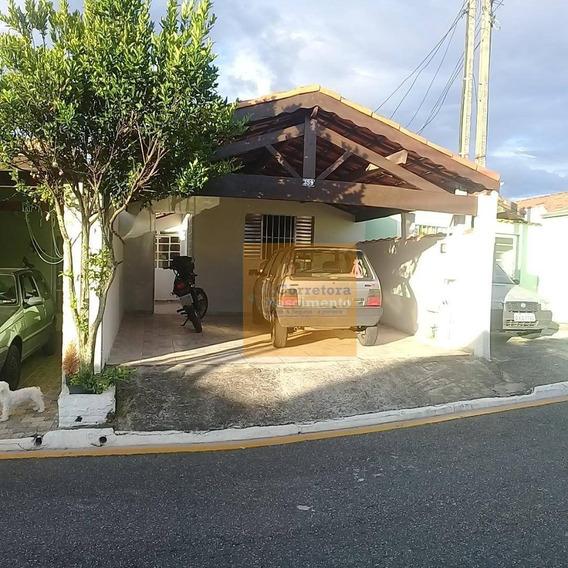 Casa Com 2 Dormitórios À Venda, 110 M² Por R$ 200.000,00 - Parque Califórnia - Jacareí/sp - Ca1638