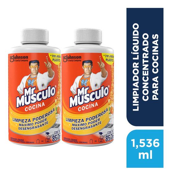 Mr. Músculo Cocina - 2 Pack Refill