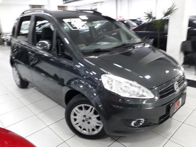 Fiat Idéa Atractive 1.4 Flex 2012 Cinza