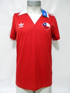 Camiseta Selección Chile 1982 adidas Originals Retro Nueva