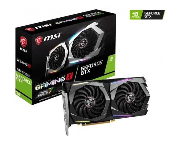 Tarjeta De Video Msi Geforce Gtx 1660 6gb Ddr5 Gaming X