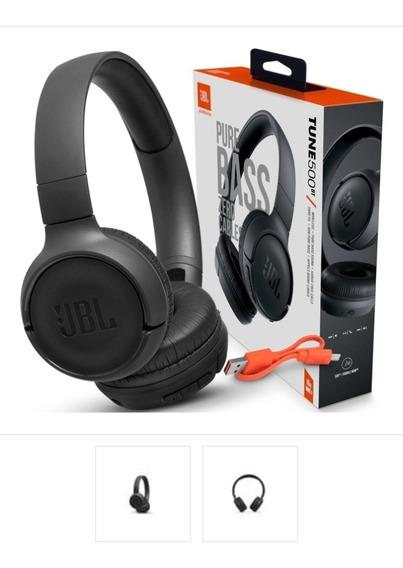 Fone De Ouvido Tune 500bt Jbl Preto Original - Bluetooth - 1