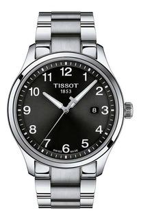 Reloj Tissot Gent Xl Classic T1164101105700 Plateado, Negro