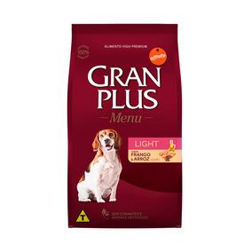 Ração Granplus Light Para Cães Adultos Sabor Frango E Arroz