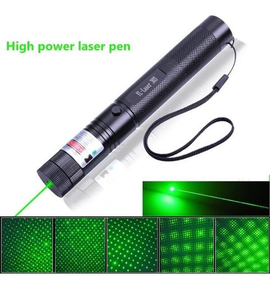 Puntero Laser Verde 100mw Yl-303 - Incluye Pila Y Cargador