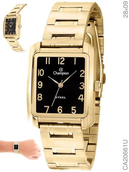 Relógio Champion Feminino Dourado Original