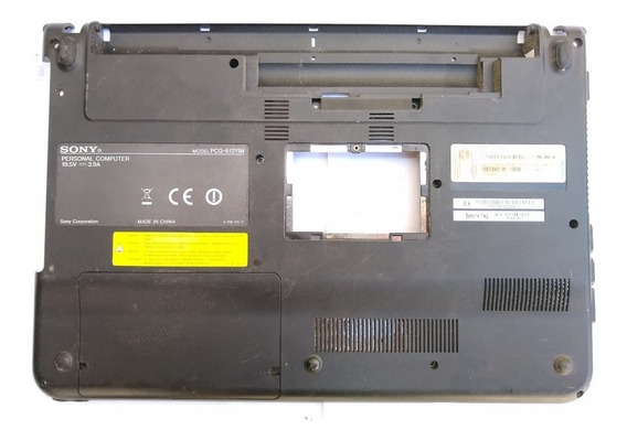 Carcaça Base Inferior Notebook Sony Pcg 61211m - Usado