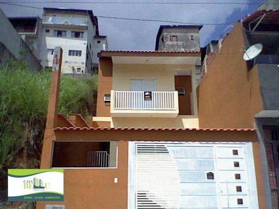 Casa Com 3 Dormitórios À Venda, 89 M² Por R$ 500.000 - Condomínio Real Park - Caieiras/sp - Ca0509