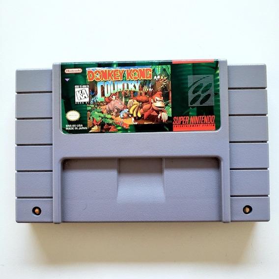 Donkey Kong Country Original Snes Super Nintendo