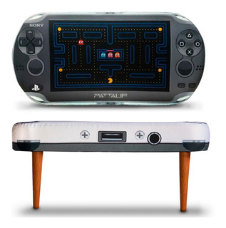 Puff Banqueta Almohadón Consola Sony Ps Vita Pacman