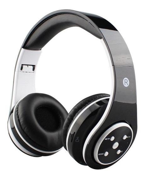 Sd Tf Fone Ouvido Favix B06 Sem Fio Preto Fm Radio Bluetooth