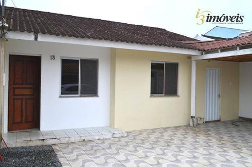 Casa Com 2 Dormitórios Em Condomínio Fechado No Bairro Dom Bosco (averbada) - Ca0372