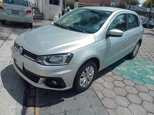 Imagen 1 de 15 de Volkswagen Gol 2019 1.6 Trendline Mt 4 P