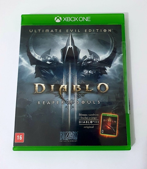 Diablo 3 Ultimate Evil Edition (mídia Física Pt-br) Xbox One