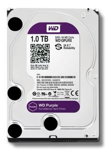Disco Rigido 1 Tb - Disco Wd Purple Sistemas De Vigilancia