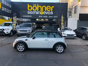 Mini Cooper 1.6 Chili Aa Tela/piel Qc At Año 2013
