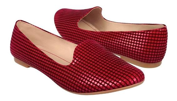 Zapatos Stylo 1905 Suede Rojo