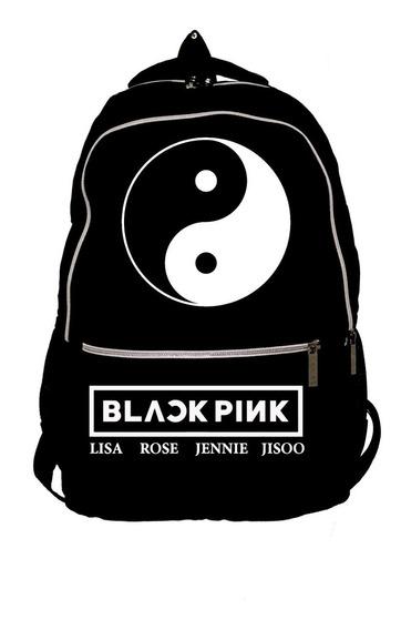 Mochila Black Pink