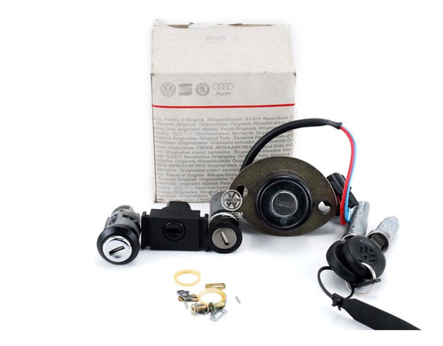 Cilindro Kit Ignição C/ Cil Maç Porta Santana 4p 98/ Orig Vw