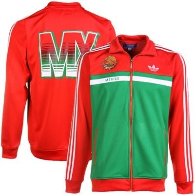Calle Sold Out Mx Adidas 13 Originals Chamarra México 2xl N0wvm8On